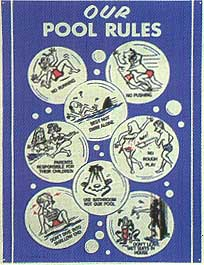 Swimming Pool Supply Company Pool And Spa Signs
